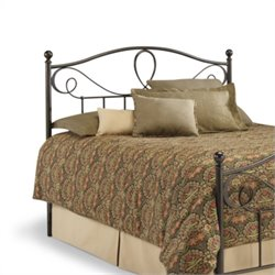 Fashion Bed Sylvania Spindle Headboard in Brown