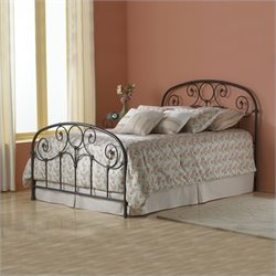 Fashion Bed Grafton Metal Bed in Rusty Gold Finish