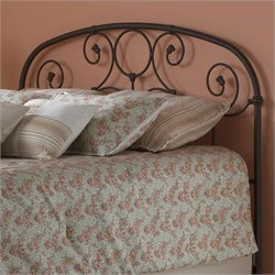 Spindle Headboard in Rust Gold