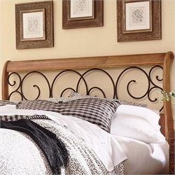 Spindle Headboard in Oak
