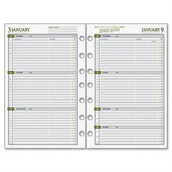 Day Runner Dated Planner Refill