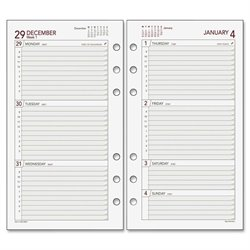 Day Runner Express 063285Y Planning Page