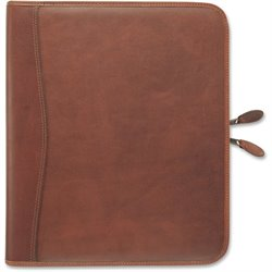 Day-Timer Leather  Zip Closure Starter Set Organizer