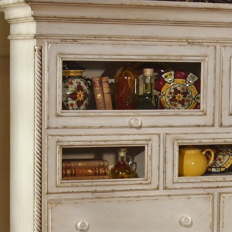 Hillsdale Wilshire White Sideboard Cabinet