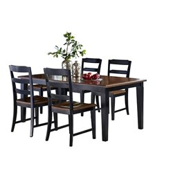 Avalon Dining Set in Black