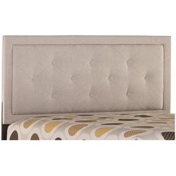 Becker Upholstered Panel Headboard in Cream