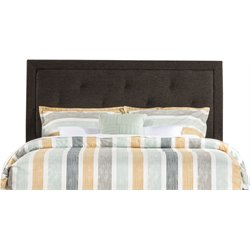 Hillsdale Becker Upholstered Full Panel Headboard in Black