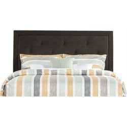 Becker Upholstered Panel Headboard in Black