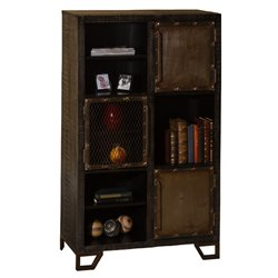 Hillsdale Bridgewater 6 Cubby Bookcase in Black