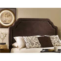 Carlyle Upholstered Headboard in Brown