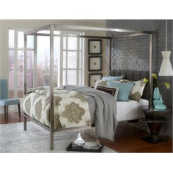 Chatham Canopy Bed in Antique Nickel