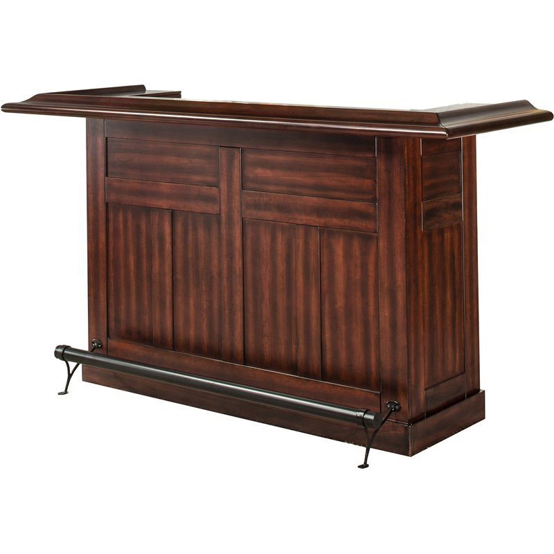 Hillsdale Classic Home Bar In Brown Cherry 64028bche