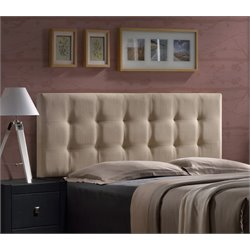 Duggan Upholstered Headboard in Beige (2)
