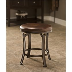 Hillsdale Hastings Vanity Stool in Antique Bronze