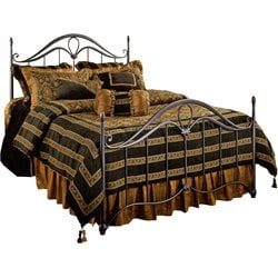 Hillsdale Kendall Queen Poster Bed in Bronze