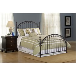 Hillsdale Kirkwell Queen Poster Bed in Brushed Bronze