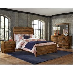 Hillsdale Madera King Panel Bedroom Set in Natural