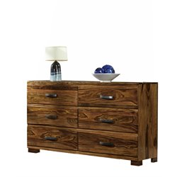 Hillsdale Madera 4 Drawer Dresser in Natural