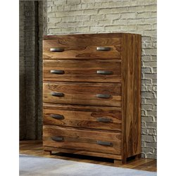 Hillsdale Madera 5 Drawer Chest in Natural