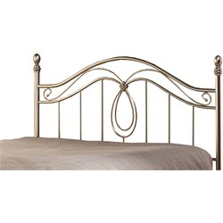 Milano Headboard in Antique Pewter