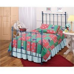 Molly Twin Poster Bed in Blue