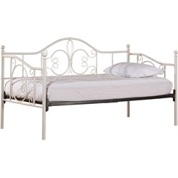 Hillsdale Ruby Daybed in Textured White