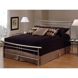 Soho Spindle Bed in Brushed Nickel