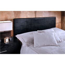 Hillsdale Springfield Full Queen Panel Headboard in Black