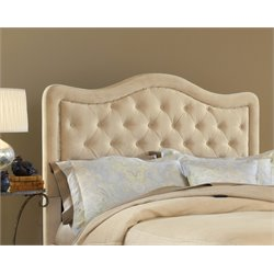Hillsdale Trieste Upholstered King Panel Headboard in Beige