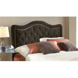 Hillsdale Trieste Upholstered Queen Panel Headboard in Brown