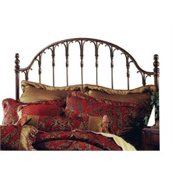 Hillsdale Tyler Full Queen Spindle Headboard in Antique Bronze