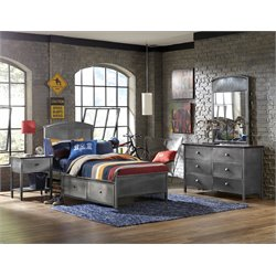Hillsdale Urban Quarters Twin Panel Storage Bedroom Set 2