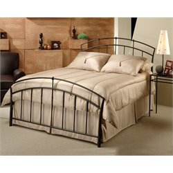 Hillsdale Vancouver King Spindle Bed in Antique Brown
