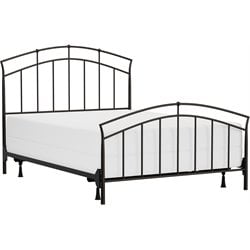 Hillsdale Vancouver Queen Spindle Bed in Black