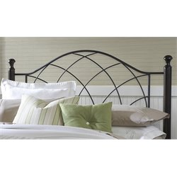 Hillsdale Vista Spindle Headboard in Black