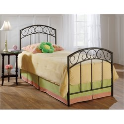 Wendell Twin Spindle Bed in Copper Pebble