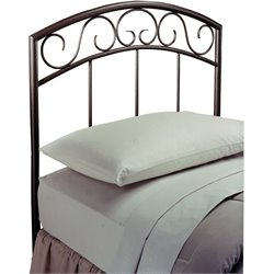 Hillsdale Wendell Twin Spindle Headboard in Copper Pebble