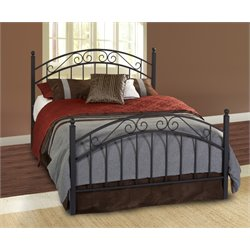 Willow Poster Bed in Textured Black