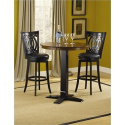 Hillsdale Dynamic Designs Pub Table in Black