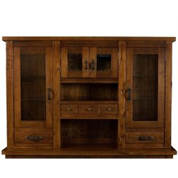 Hillsdale Outback Hutch in Chestnut