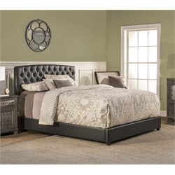 Hillsdale Hawthorne Upholstered Bed in Black