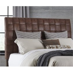 Hillsdale Riley Upholstered King Headboard in Light Brown