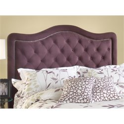 Hillsdale Trieste Upholstered King Headboard in Purple