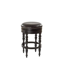 Hillsdale Baker Backless Stool in Black