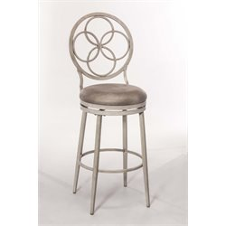 Hillsdale Donnelly Swivel Stool in Weathered Gray