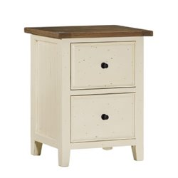 Hillsdale Tuscan Retreat File Cabinet in Country White