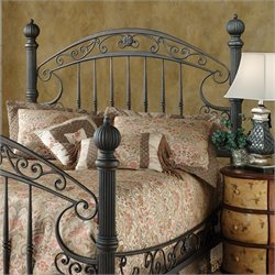 Hillsdale Chesapeake Spindle Headboard in Brown