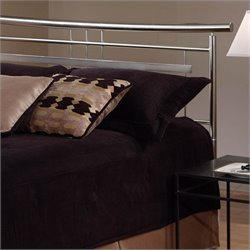 Hillsdale Soho Spindle Headboard in Silver