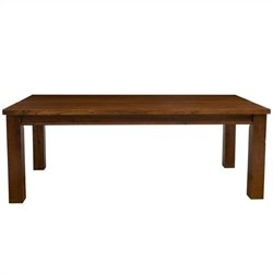 Hillsdale Outback Rectangular Dining Table in Distressed Chestnut