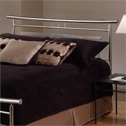 Hillsdale Soho Spindle Headboard in Nickel